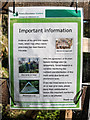 NH3339 : Forestry Commission Scotland Information Sign by valenta