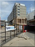 SO8554 : Construction site in Worcester by Philip Halling