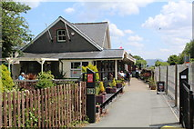 SH5639 : The old Porthmadog station by Richard Hoare