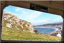SH7783 : View through a tram window by Gerald England