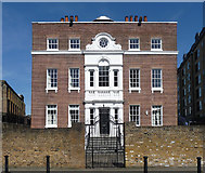 TQ3680 : Nelson Dock House, Rotherhithe Street by Stephen Richards