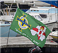 J5081 : Euro 2016 flag, Bangor by Rossographer