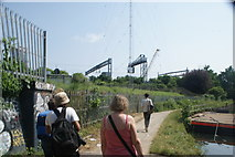 TQ3783 : View of the Great Eastern Mainline from the River Lea towpath by Robert Lamb