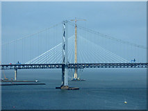 NT1279 : The Queensferry Crossing under construction by Thomas Nugent