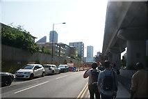 TQ3880 : View along Blackwall Way by Robert Lamb