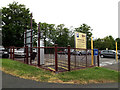 TM0458 : Iliffe Way Car Park & signs by Adrian Cable