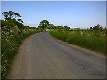 SE7576 : Kirby Misperton Road by T  Eyre