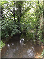 TM0358 : Rattlesden River at Wash Lane Ford by Adrian Cable