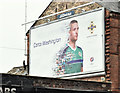 J3273 : Northern Ireland - Euro 2016 poster (Conor Washington), Belfast (June 2016) by Albert Bridge