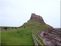 NU1341 : Lindisfarne Castle by Len Williams