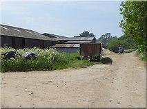 SU1070 : Farm buildings at Manor Farm by Oliver Dixon