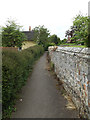 TL9759 : Footpath to Lower Road by Adrian Cable