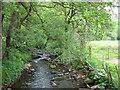 SJ9767 : Clough Brook by Stephen Burton