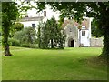 ST4363 : Vicarage and refectory, Congresbury by Philip Halling