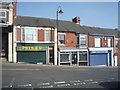 NZ2242 : Shops on Station Road, Ushaw Moor by JThomas