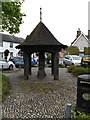TL9762 : Woolpit Village Pump by Adrian Cable