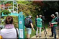 TQ2878 : BBC film crew at work by Richard Hoare