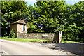 TQ8556 : Building at Hollingbourne House entrance by Robin Webster