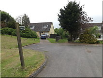 TL9568 : Church View & footpath to the A1088 Stow Lane by Geographer