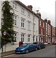SO9545 : Row of 3-storey houses, Bridge Street, Pershore by Jaggery