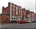 SO9545 : Grade II(star) listed 56 and 58 Bridge Street, Pershore by Jaggery