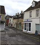 SO8700 : Crossroads in the centre of Minchinhampton by Jaggery