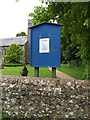 TL9663 : St.Andrew's Church Notice Board by Adrian Cable