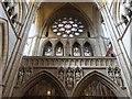 SW8244 : Superb detail in the stonework, Truro Cathedral by Derek Voller