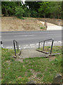 TL9863 : Steps to Church Road by Geographer
