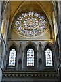 SW8244 : Beautiful Rose window in Truro Cathedral by Derek Voller