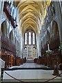 SW8244 : The Choir, Truro Cathedral by Derek Voller
