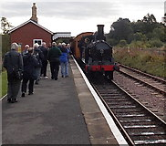 SO2508 : Webb Coal Tank and admirers in Blaenavon by Jaggery