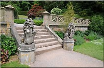 ST5071 : Steps in the gardens of Tyntesfield by Philip Halling