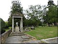SJ6734 : Market Drayton: St Mary's churchyard by Jonathan Hutchins