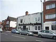 SJ8545 : The Old House At Home public house, Hartshill by JThomas
