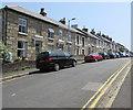 SW4730 : On-street parking, Belgravia Street, Penzance by Jaggery