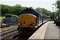 SD0896 : Class 37 at Ravenglass by Peter Trimming