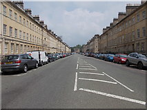 ST7565 : Great Pulteney Street - viewed from Henrietta Street by Betty Longbottom