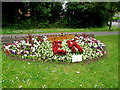 ST4770 : Nailsea WI flowerbed by Jaggery