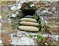 SW7727 : Hole in the wall, Durgan, near Mawnan Smith, Cornwall by Derek Voller