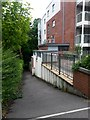 SZ0791 : Bournemouth: footpath B02 from Branksome Wood Road by Chris Downer