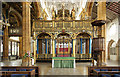 SP9068 : St Mary the Virgin, Wellingborough - Screen by John Salmon