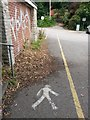 SZ0890 : Bournemouth: footpath B20 crosses the car park by Chris Downer