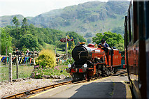 NY1700 : 'River Mite' at Dalegarth by Peter Trimming