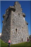 HU4039 : Scalloway Castle by Mike Pennington