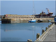 SW4628 : A corner of Newlyn Harbour by Chris Allen