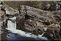 NH4116 : Invermoriston : Invermoriston Falls by Lewis Clarke