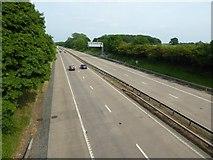 SJ8106 : The M54 near Shackerley by Philip Halling
