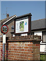 TM0848 : Somersham Baptist Chapel sign by Adrian Cable