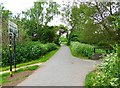 SP0581 : Junction of paths in Hazelwell Park, Stirchley, Birmingham by P L Chadwick